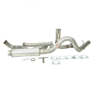 DynoMax® - Ultra Flo™ Stainless Steel Single Turbo-Back Exhaust System with Single Side Exit