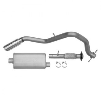 DynoMax® - Ultra Flo™ Stainless Steel Single Cat-Back Exhaust System with Single Side Exit