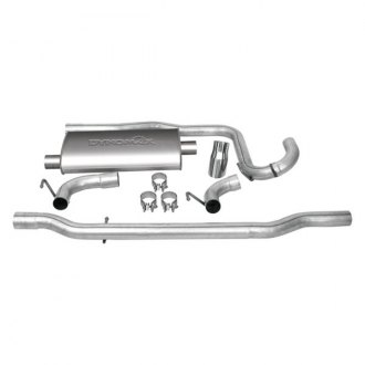 DynoMax® - Ultra Flo™ Stainless Steel Single Cat-Back Exhaust System with Single Rear Exit