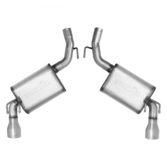 DynoMax® - Ultra Flo™ Stainless Steel Dual Axle-Back Exhaust System