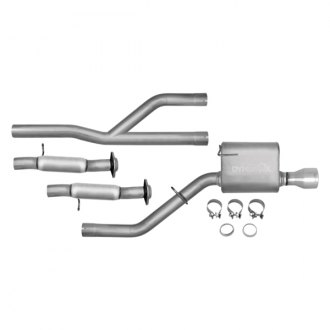 DynoMax® - Ultra Flo™ Stainless Steel Single Cat-Back Exhaust System with Single Exit