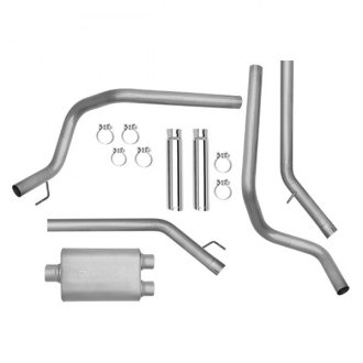 DynoMax® - Ultra Flo™ Stainless Steel Dual Cat-Back Exhaust System with Split Rear Exit