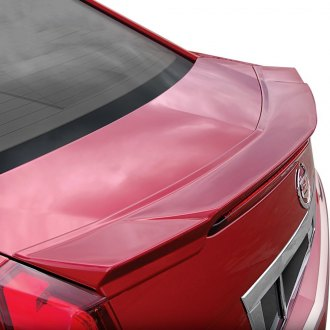 E&G Classics® - Version II Style Crystal Red Rear Deck Lid Spoiler (Painted)
