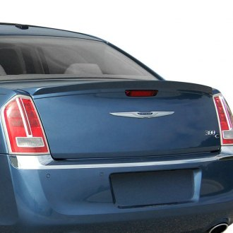 E&G Classics® - Bright Silver Metallic Rear Deck Lid Spoiler (Painted)