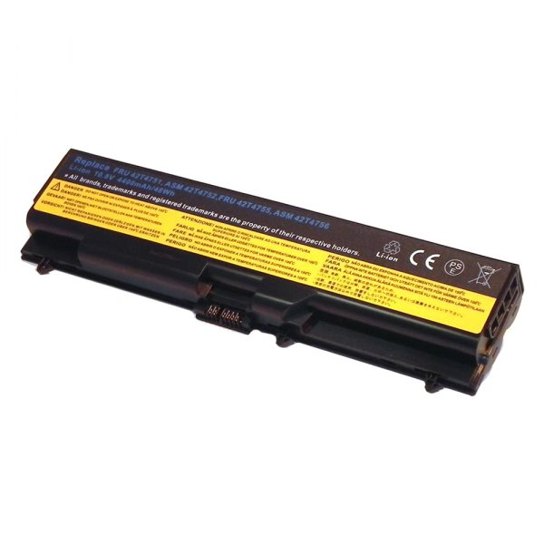 e-Replacements® - 6-Cell Lithium-Ion 4400mAh 11.1V Laptop Battery for IBM/Lenovo Thinkpad