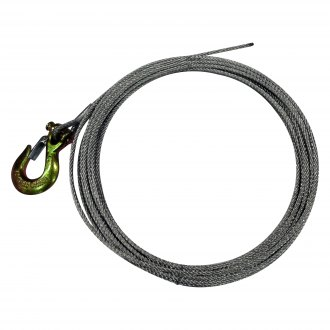 "Eagle Plow® - 3/16"" x 42' 2,500 lbs Winch Replacement Cable with G43 Hook"