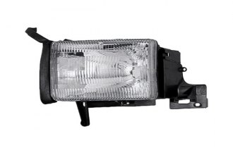 Eagle® CS022-B001R - Passenger Side Replacement Headlight w/o Corner Lamp