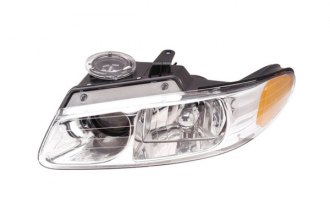 Eagle® CS096-B101L - Driver Side Replacement Headlight with Quadruple Light
