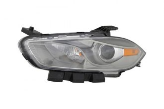 Eagle® - Replacement Headlight with Chrome Trim