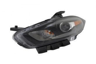 Eagle® - Replacement Headlight with Black Trim