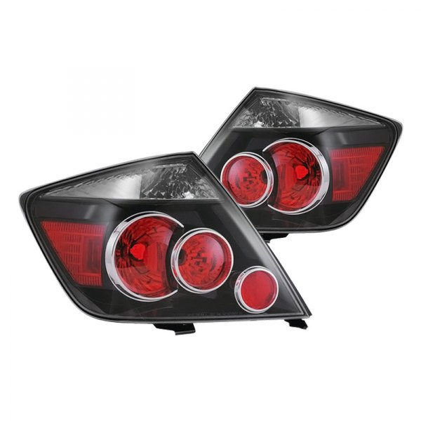 Eagle® - Black Factory Replacement Tail Lights
