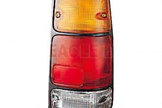 Eagle® IZ090-B00DR - Passenger Side Replacement Tail Light with Black Bezel
