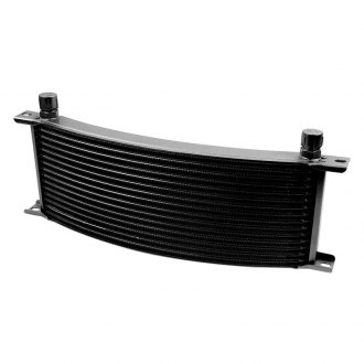 Earl's Performance® - Temp-A-Cure™ Curved Oil Cooler
