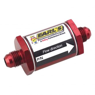 Earl's Performance® - In-Line Screen Type Fuel Filter