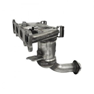 Eastern® - ECO III Front Stainless Steel Exhaust Manifold with Integrated Catalytic Converter