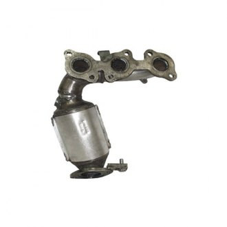 Eastern® - ECO II Front Driver Side Stainless Steel Exhaust Manifold with Integrated Catalytic Converter