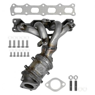 Eastern® - Stainless Steel Exhaust Manifold with Integrated Catalytic Converter