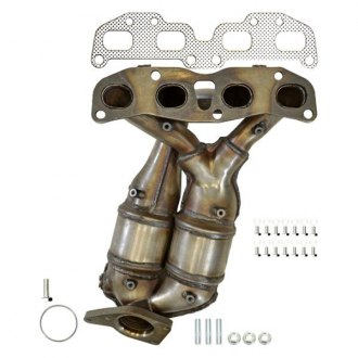 Eastern® - ECO III Stainless Steel Exhaust Manifold with Integrated Catalytic Converter