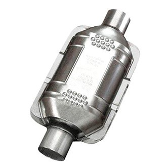 Eastern® - Standard Universal Fit Rear Undercar Oval Catalytic Converter