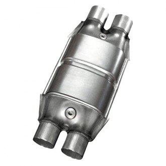 Eastern® - Large Oval Dual Inlet Catalytic Converter