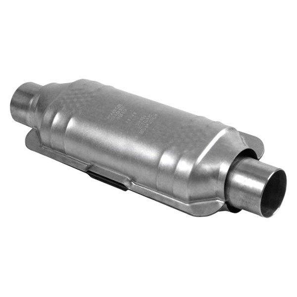 "70551 Universal Catalytic Converter Resonated Standard 3"" Pipe 14"" Body"