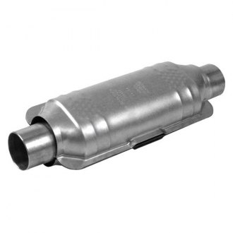 Eastern® - Universal Fit Rear Undercar Oval Catalytic Converter
