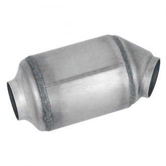 "Eastern® - Standard Stuffed Tube Universal Fit Round Body Catalytic Converter (2"" ID, 2"" OD, 7.75"" Length)"