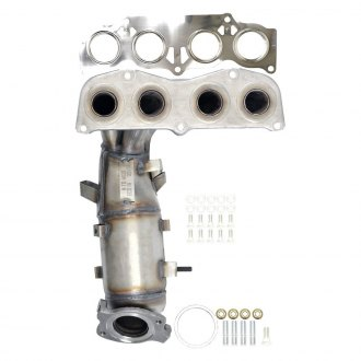 Eastern® - ECO CARB Front Exhaust Manifold with Integrated Catalytic Converter