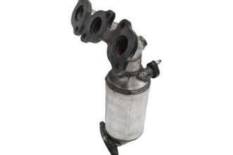 Eastern® - ECO CARB Direct Fit Front Passenger Side Manifold with Integrated Catalytic Converter