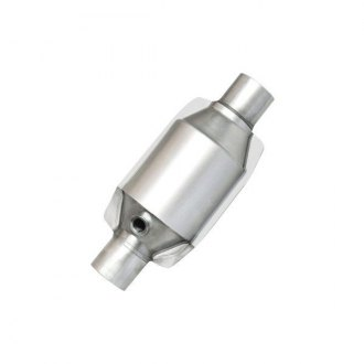 "Eastern® - ECO II Universal Fit Round Body Catalytic Converter (2.5"" ID, 2.5"" OD, 12"" Overall Length)"