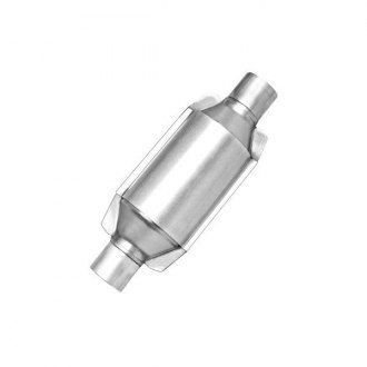 Eastern® - ECO CARB Pre-OBDII Universal Fit Center Round Catalytic Converter