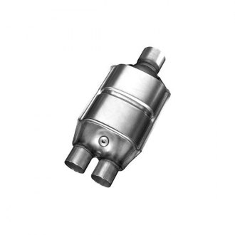 Eastern® - Universal Fit Large Oval Catalytic Converter