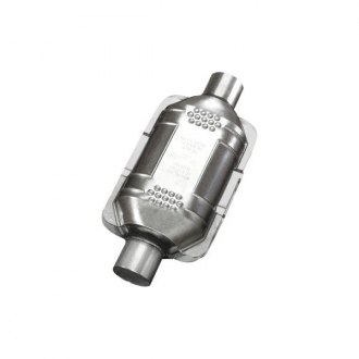 "Eastern® - ECO III Universal Fit Oval Body Catalytic Converter (2"" ID, 2"" OD, 14"" Overall Length)"