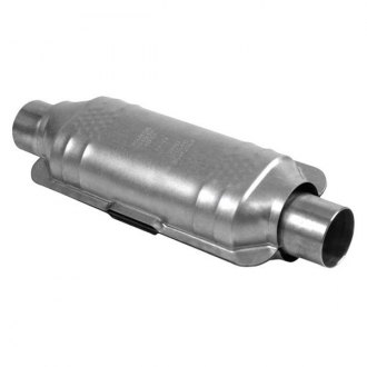 "Eastern® - ECO III Oval Catalytic Converter without Sensor Bung (2.25"" ID, 2.25"" OD, 18"" Overall Length)"