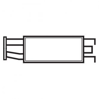 1997 Mercury Mountaineer Replacement Exhaust Parts Carid. Eastern Exhaust Msl Maximum Aluminized Steel Oval Body Muffler. Mercury. 97 Mercury Mountaineer Exhaust Diagram At Scoala.co