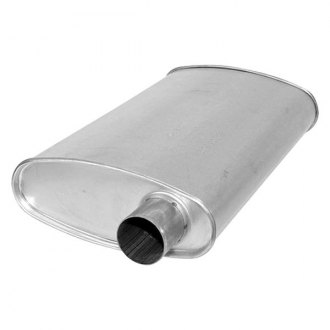 Eastern Exhaust® - MSL Maximum Oval Body Aluminized Steel Exhaust Muffler