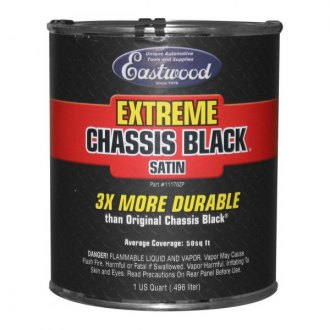 Eastwood® - Extreme Chassis Black Paint Quart Can