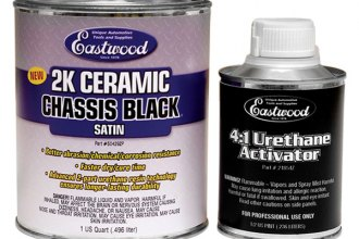 Eastwood® - 2K Ceramic Chassis Black Satin Paint and Activator