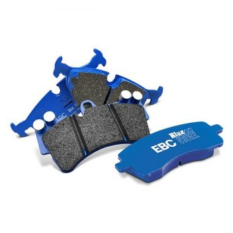 Image may not reflect your exact vehicle! EBC® - Bluestuff NDX Formula Racing Front Brake Pads