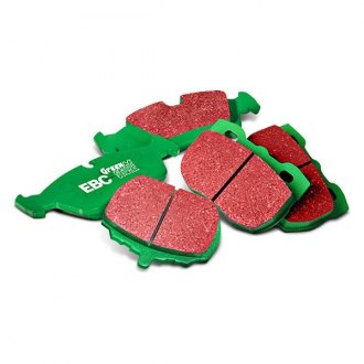 Image may not reflect your exact vehicle! EBC® - Greenstuff 2000 Series Sport Front Brake Pads