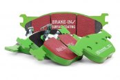 Image may not reflect your exact vehicle! EBC® - Greenstuff 6000 Series Truck and SUV Front Brake Pads