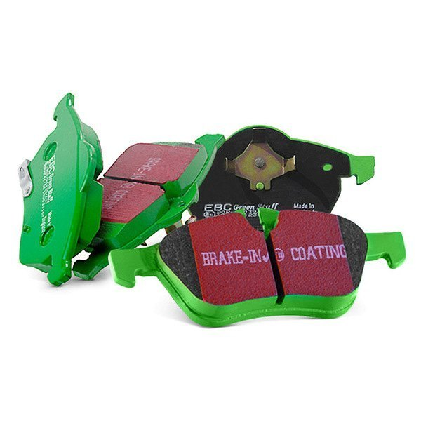 Image may not reflect your exact vehicle! EBC® - Greenstuff 7000 Series SUV Supreme Compound Front Brake Pads