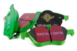 EBC® - Greenstuff 7000 Series SUV Supreme Compound Front Brake Pads