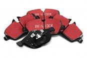 Image may not reflect your exact vehicle! EBC® - Ultimax OEM Replacement Front Brake Pads