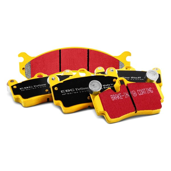 "EBC® - Yellowstuff 4000 ""R"" Series Full Race Brake Pads"