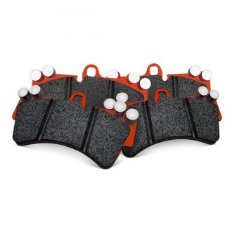 Image may not reflect your exact vehicle! EBC® - Orangestuff Full Race Front Brake Pads