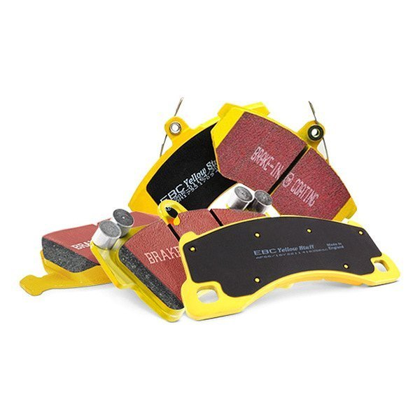 Image may not reflect your exact vehicle! EBC® - Yellowstuff Rear Brake Pads