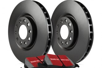 Image may not reflect your exact vehicle! EBC® - Stage 20 Street Plain Front and Rear Brake Kit - New