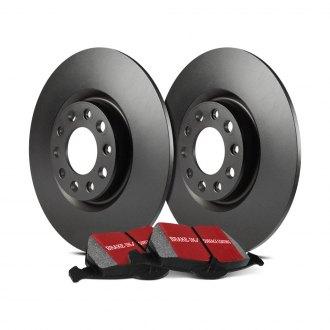 Power Stop K1373 Front Brake Kit with Drilled//Slotted Brake Rotors and Z23 Evolution Ceramic Brake Pads