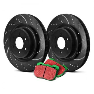 EBC® - Stage 10 Super Sport Dimpled and Slotted Brake Kit